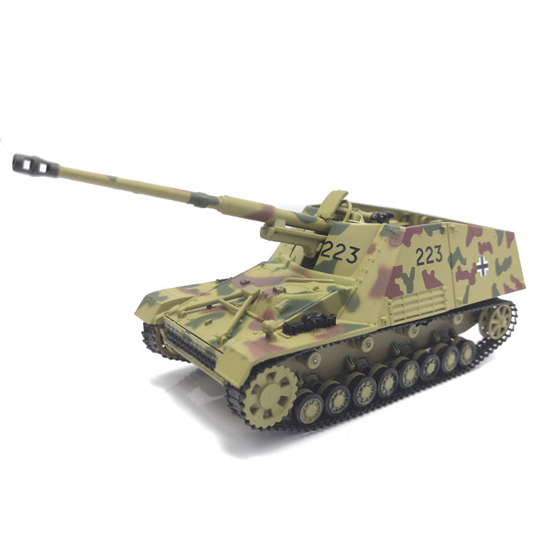 [New Products] 1: 72 Camouflage Color Germany Convertible Self-Propelled Gun Rhino Alloy Model Military Model