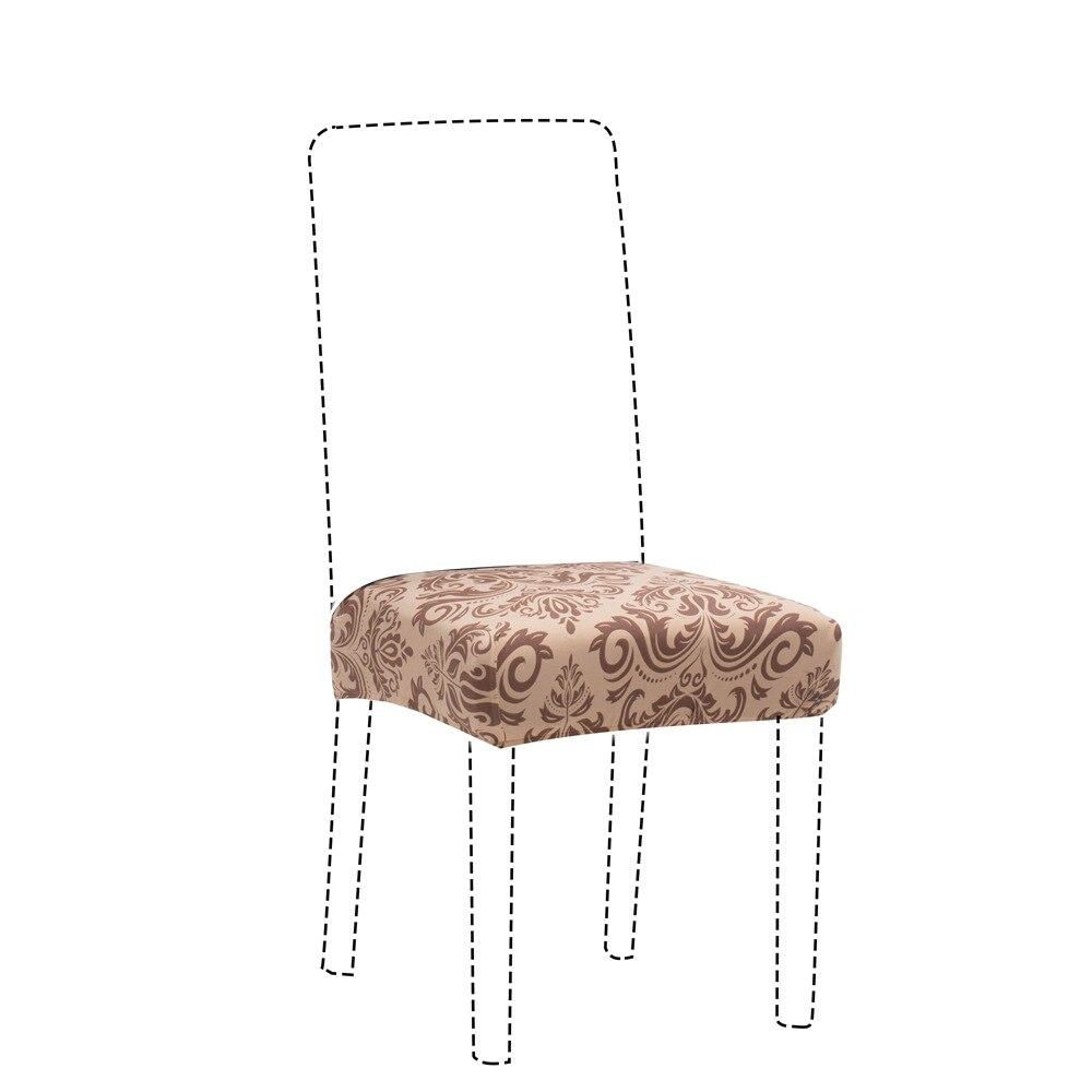 Lüks streç sandalye kılıfı büyük elastik koltuk sandalye kılıfı s boyama Slipcovers restoran ziyafet otel Anti-kirli çıkarılabilir 2019