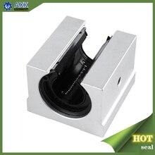 4 ชิ้น/ล็อตจัดส่งฟรี SBR20UU 20mm Linear BALL BEARING BLOCK CNC Router สำหรับ SBR20 liear RAIL
