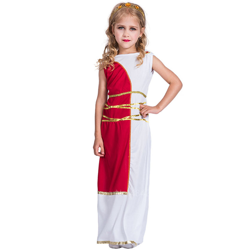 Halloween Carnival Party Medieval Egyptian Cleopatra Cosplay Costume Baby Girl Kids Roman Greek Goddess Prince Medieval Dress Girls Costumes Aliexpress