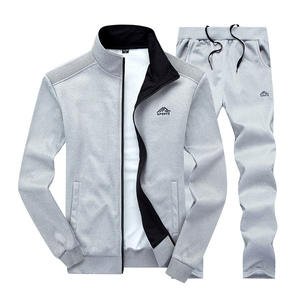 Fitness Clothing Pants Sportswear-Set Jacket Track-Suit Two-Pieces Sporting Men Men's