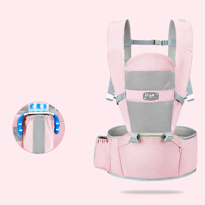 MissAbigale Ergonomic New Born Baby Carrier Infant Kids Backpack Hipseat Sling Front Facing Kangaroo Baby Wrap for Baby Travel