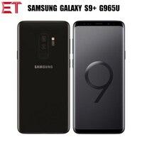 새로운 삼성 갤럭시 S9 플러스 S9 + G965U T-모바일 버전 4G 휴대 전화 6.2