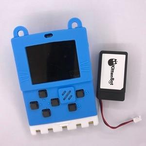Image 3 - Kittenbot Meowbit contient une batterie et un câble USB, prend en charge larcade Makecode et Python, les blocs de construction de programmation graphique