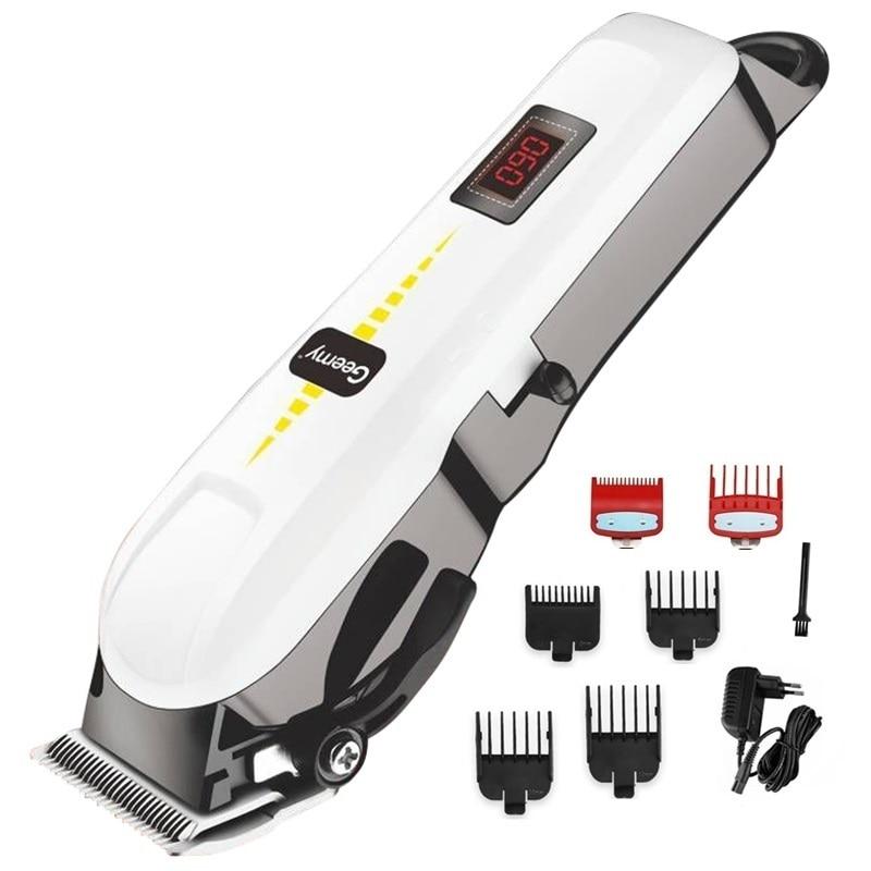 professional barber hair clipper cordless hair trimmer beard trimer for men electric hair cutting machine rechargeable hair cut 1