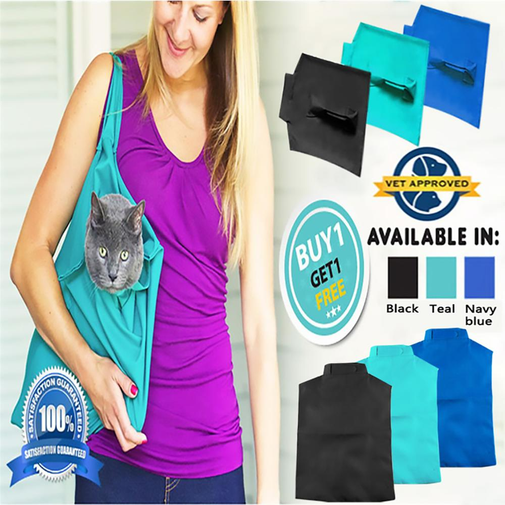 2PCS Cat Carrier Pack Soft Pet Bags Travel Pouch Multi function Cat Sling Carrier Bag Travel Tote Outdoor Backpack Dropshipping in Carriers Strollers from Home Garden