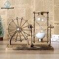 Strongwell  Европейский ретро  колесо обозрения  песочные часы  многофункциональный песочные часы  Ночной светильник  аксессуары для дома  подар...