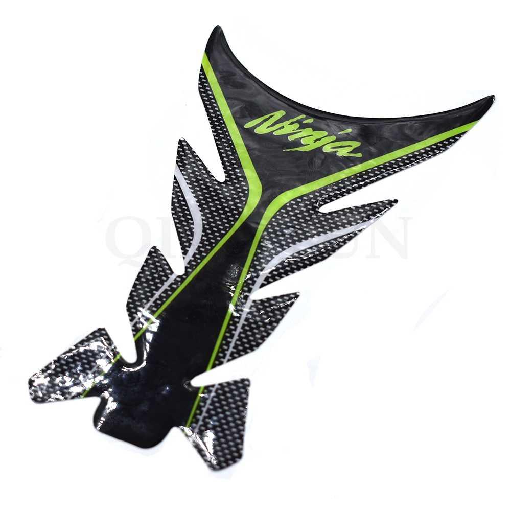 3D motocicleta pegatina calcomanía Gas aceite tanque almohadilla Protector funda para Kawasaki Ninja ZX10R ZX6R 636 zx6tr ZX12R Z1000 ZZR600 Z800