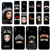 YNDFCNB Muslim Islamic Arabic Gril Eyes Koran Phone Case for Huawei Honor 8 x 9 10 20 V 30 pro 10 20 lite 7A 9lite case(China)