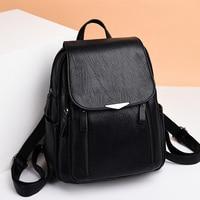 Women backpack black 2020 bag roomy for women ladies backpack