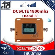 75dB guadagno 4G ripetitore di segnale 1800mhz ripetitore di segnale GSM 4G DCS LTE1800 ripetitore di segnale Mobile 4G amplificatore cellulare cellulare 4G