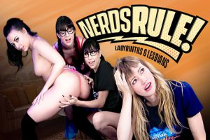 GirlsWay  Alison Rey, Whitney Wright, Ivy Wolfe, Judy Jolie  Labyrinths And Lesbians