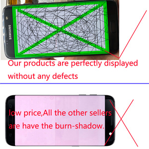 Image 2 - 5.5 Original NEW Without Burn Shadow LCD Display With Frame for SAMSUNG Galaxy s7 Edge SM G935 G935F G935FD LCD Touch Screen