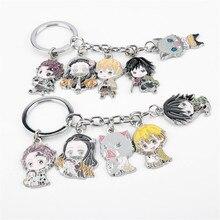 Demon Slayer Kamado Tanjirou Q Version Keychains Caroon Stove Door Tanjiro  Anime Keychain Jewelry Gift For Friends джемпер caroon