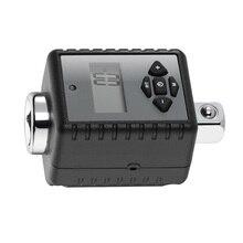 1/2 pouce haut outil numérique avec adaptateur tête daffichage professionnel 10 200Nm noir réglable clé dynamométrique en acier Durable