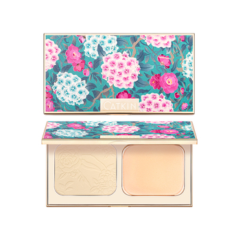 CATKIN Makeup Face Pressed Powder Foundation Compact Matte Conceal Pores Silky Smooth Creamy Texture