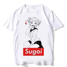 Новейшая модель; Уличная одежда с японскими аниме принтами футболки