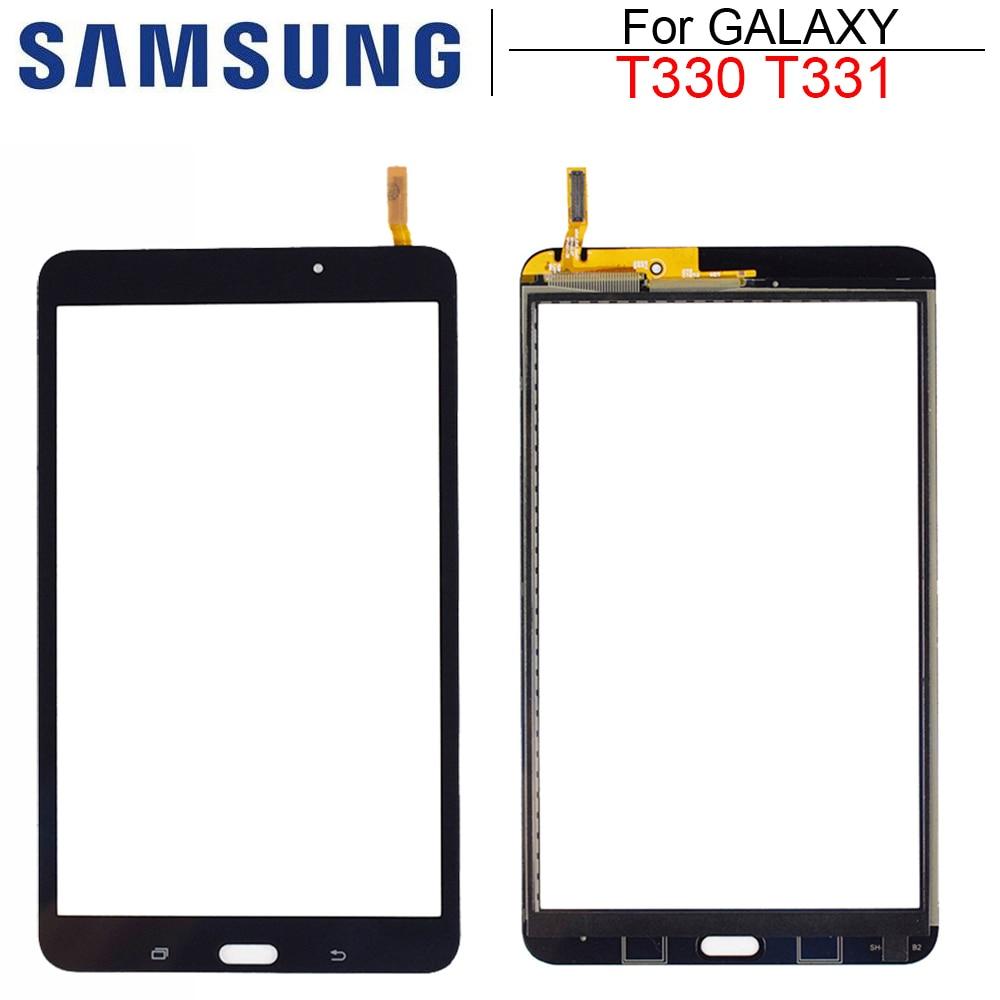 Новый SM-T330 SM-T331 сенсорная панель для Samsung Galaxy Tab 4 8,0 T331 T330 3G & Wifi версия сенсорный экран планшета Бесплатная доставка