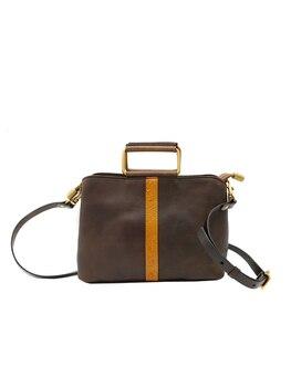Original 100% Genuine Leather Bag Real Cowhide Women Handbags Vintage Manual Simple Design Solid Crossbody Bags For Women