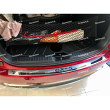 Trunk-Trim Styling-Accessories Auto-Sticker Rear for CX5 Car Stainless-Steel Rear-Bumper-Protector