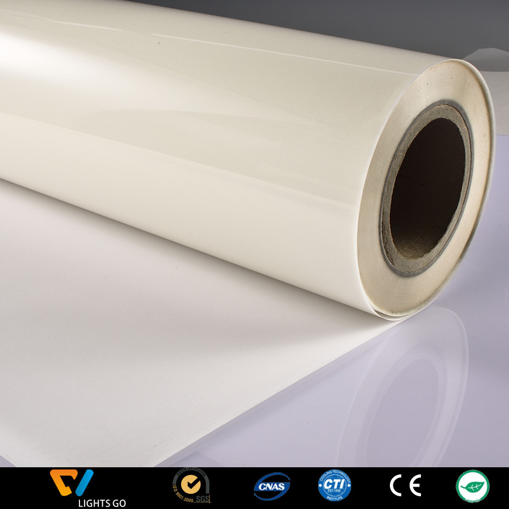Transparent Highlight Reflective Yarn Protective Film White Reflective Transfer Film Reflective Printed Material Manufacturers D