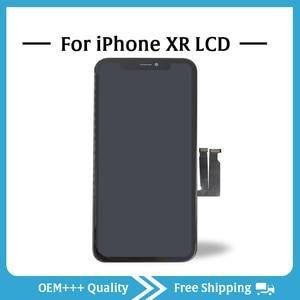 Image 3 - כיתה AAA למעלה איכות עבור iPhone XR LCD המקורי לא מת פיקסל תצוגת 3D מגע מסך עצרת החלפת Pantalla עם כלים