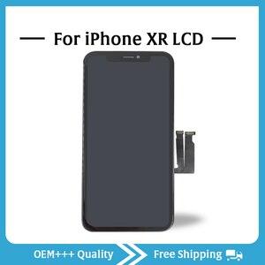 Image 3 - Sınıf AAA en kaliteli iPhone XR LCD orijinal hiçbir ölü piksel ekran 3D dokunmatik ekran montaj değiştirme ile Pantalla araçları