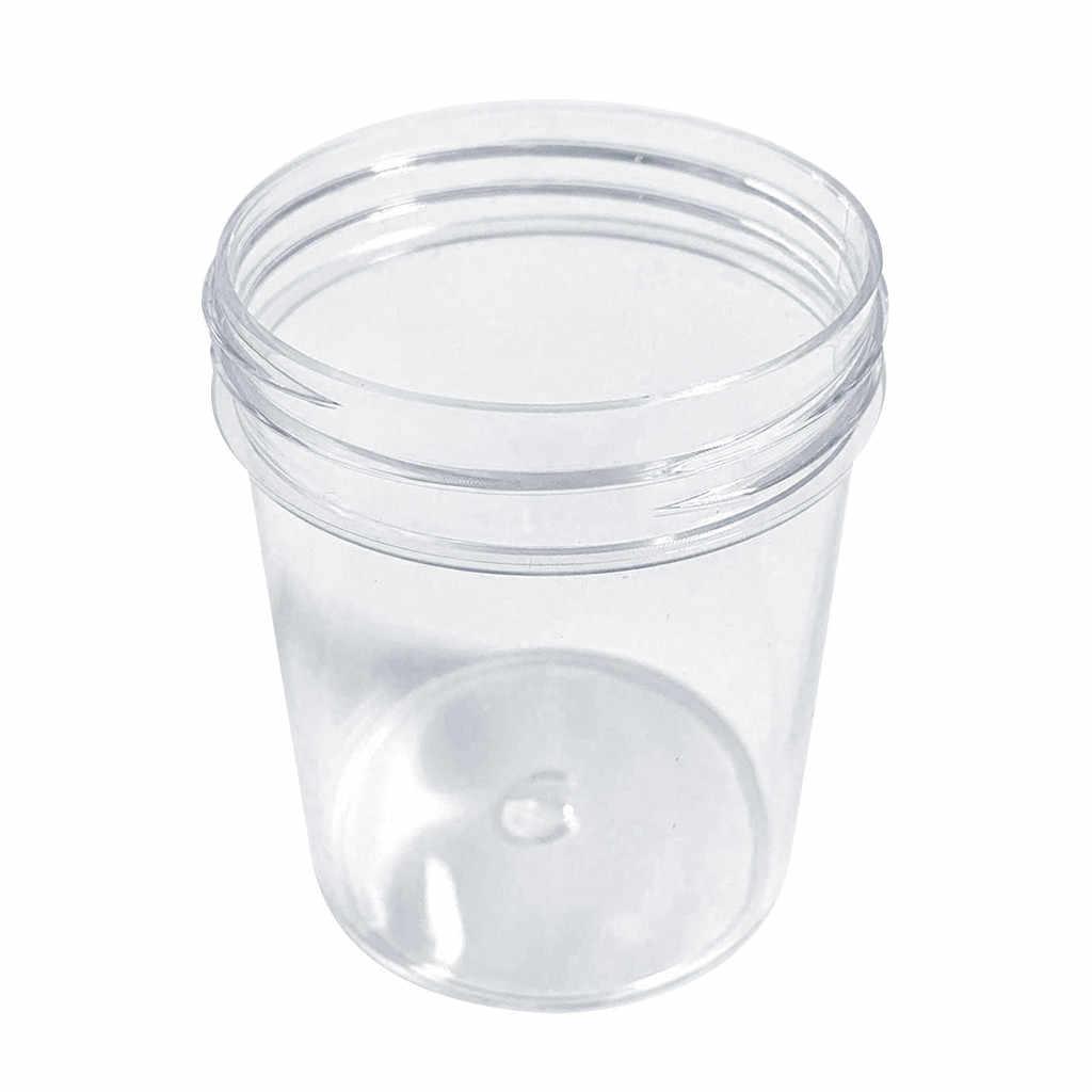 Playdough 粘液粘土化粧品瓶化粧品クリームボトルネイルボックス容器クリーム軟膏パウダー転送貯蔵タンク #10