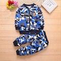 Зимняя одежда для маленьких мальчиков и девочек, комплекты теплое плотное пальто на молнии + штаны, комплект из 2 предметов спортивный костю...