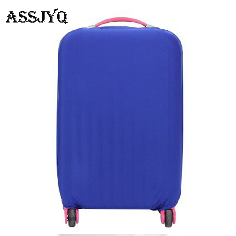 Fashion Hot Solid Color Luggage Cover Luggage Dust Cover Travel Accessories Trolley Case Cover For 18