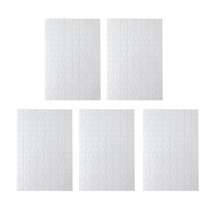 5 шт. A4 пустые Пазлы для раскрашивания DIY бумажные Пазлы забавные игрушки