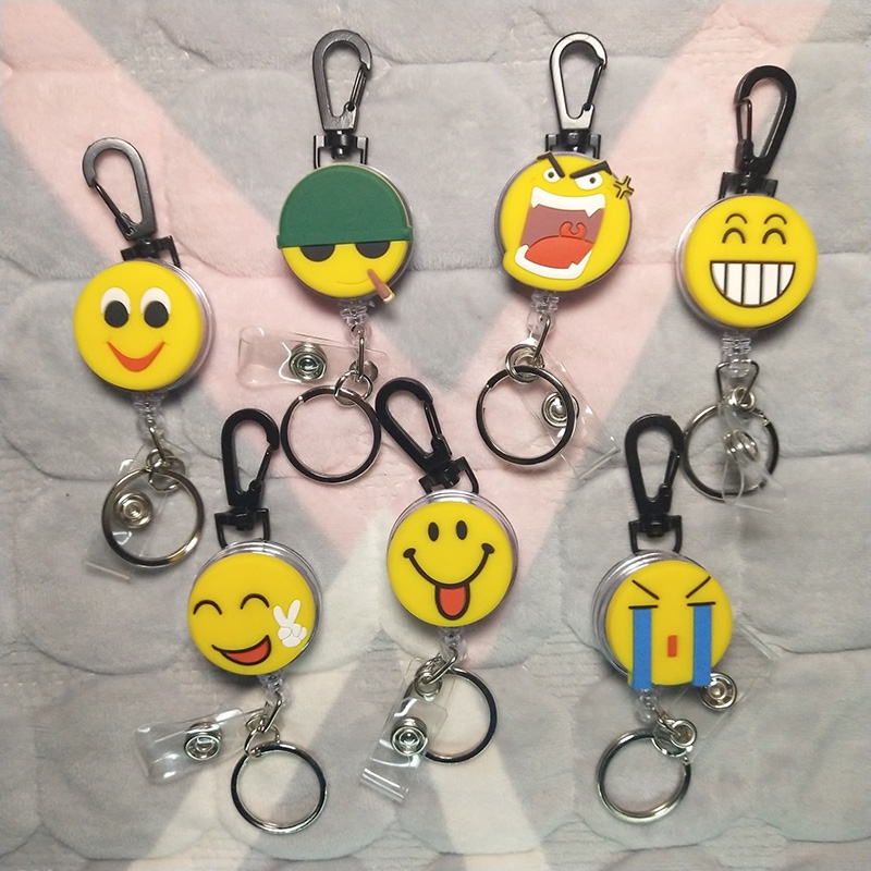 Retractable Key Chain Cute Cartoon Nursing Card Holder, Card Holder, Badge Holder, Badge Reel, 2020 New, Retractable Badge Clip