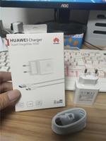 Huawei Original de 4,5 V 5A sobrecargar el cargador rápido 22,5 W 40W para P20 Pro P30 P40 Lite Mate 10 Mate 20 30 Pro 5A tipo C-Cable