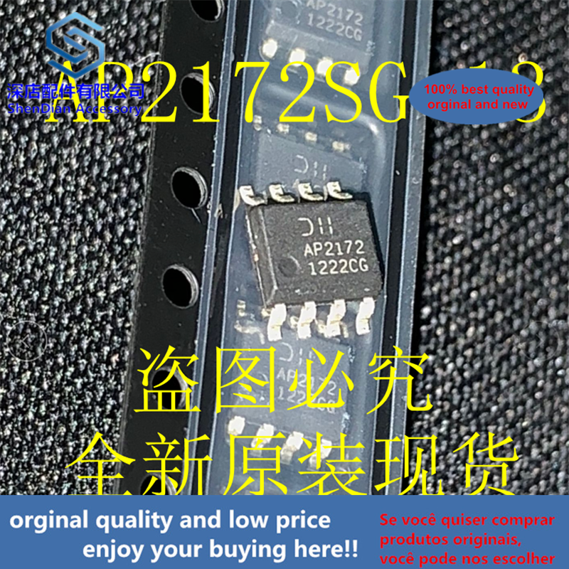 10pcs 100% Orginal And New AP2172SG-13 AP2172 SOP8  Best Qualtiy