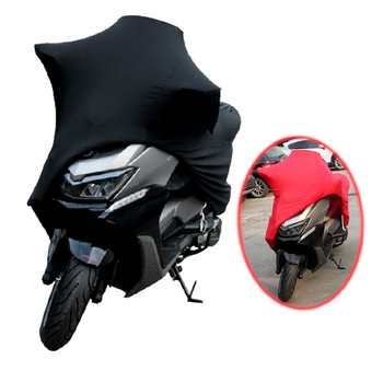 Universal Motorcycle Covers UV Protector Cover Indoor Outdoor 2 Colors Bike Motor Scooter Dustproof Cover Elastic Fabric M -4XL 265x105x125 xxl 210d waterproof protector motorcycle covers for universals scooter motor bike dirt outdoor cover coat