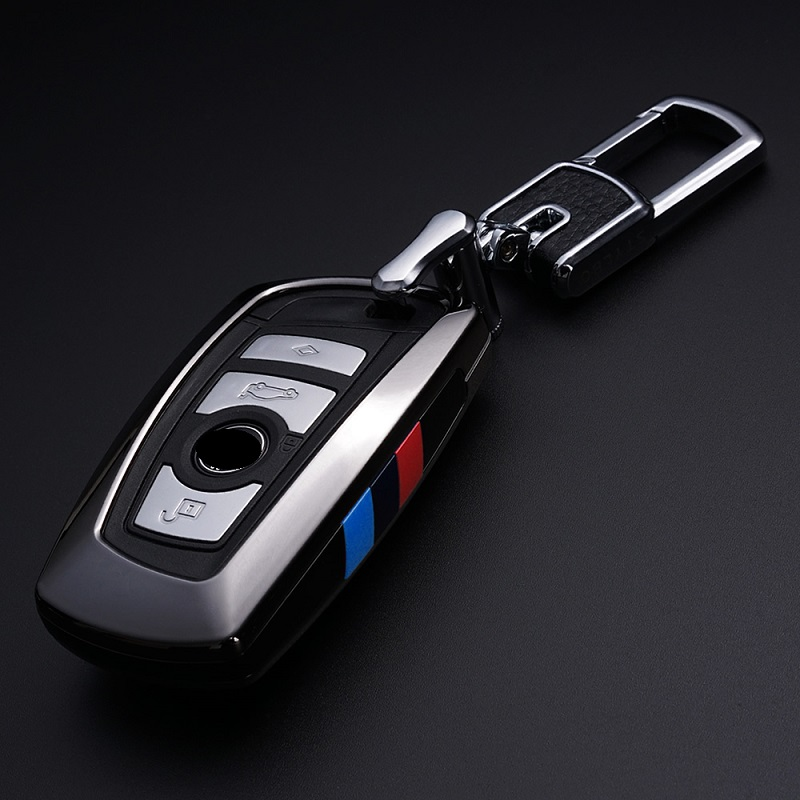 Car Keychain For BMW Key Case F30 F10 For Bmw F30 F20 for bmw X3 X4 Series Car Key Cover Leather Key Wallet Car Styling