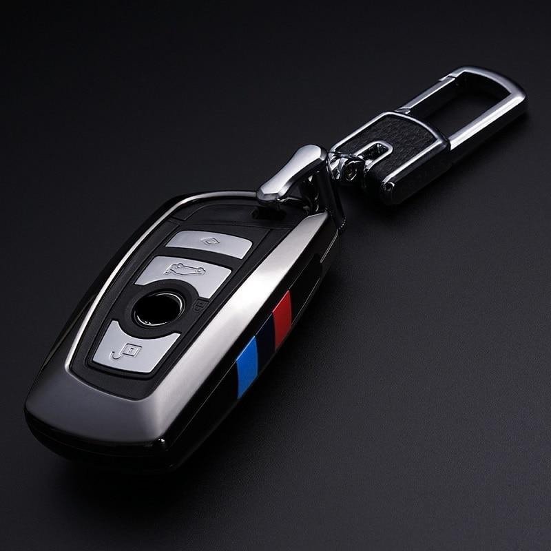 Автомобильный брелок для BMW, чехол для ключей F30 F10 для Bmw F30 F20 для bmw X3 X4 серии, автомобильный чехол для ключей, кожаный чехол для ключей, автомо...