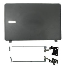 Novo lcd capa traseira/lcd moldura dianteira/lcd dobradiças para acer aspire ES1-523 ES1-533 ES1-532 ES1-572 série portátil lcd caso superior
