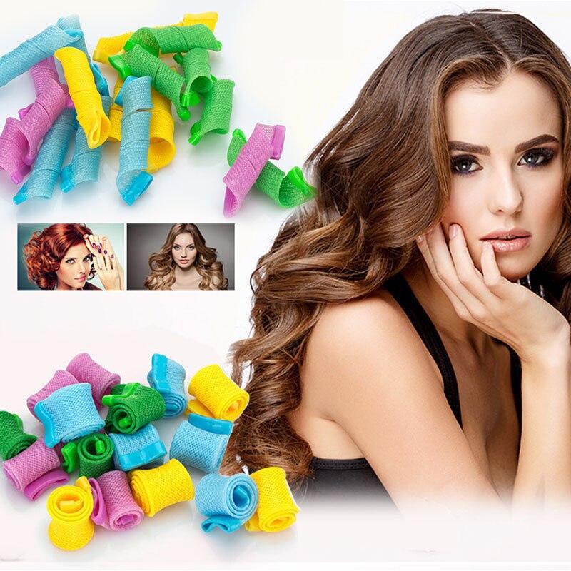 Roll Hair Tools Roll Bangs Magic Roll Diy Curly Hair Tools Changeable Curly Hair Snail Roll Shape Curly Hair Strip SU238