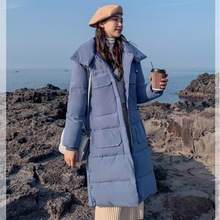Jacket For Women Winter Hooded Ladies Long Coats Parkas Thick Warm Solid Mid-long Women Jacket Fashion Hooded Casual Down стоимость
