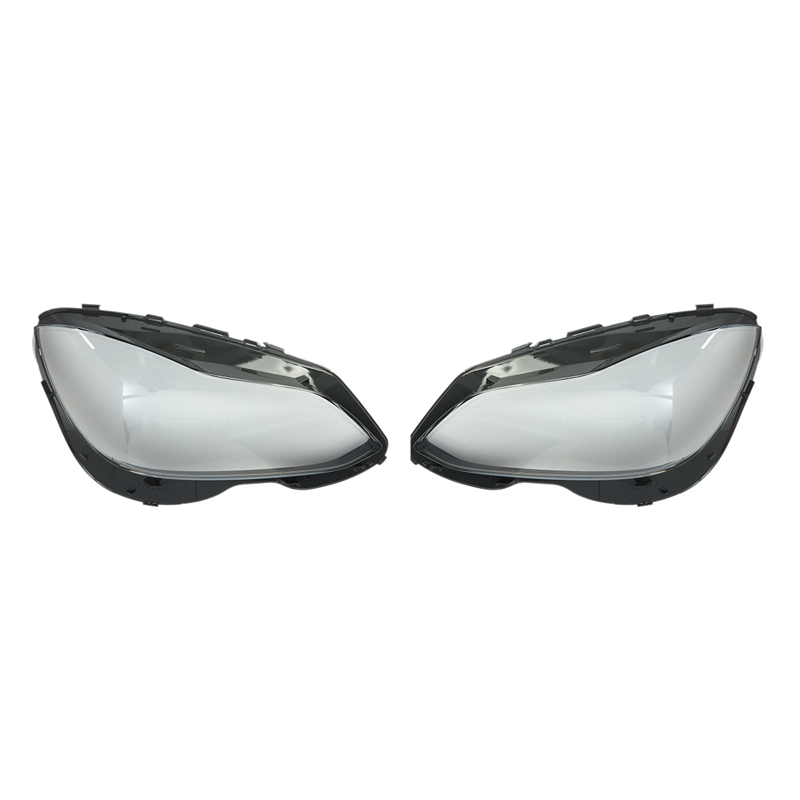 DHBH-1Pair Car Clear <font><b>Headlight</b></font> Headlamp Lens Cover Head Lamp Cover For Mercedes Benz E-Class <font><b>W212</b></font> S212 E200L E250 E260L E280L image