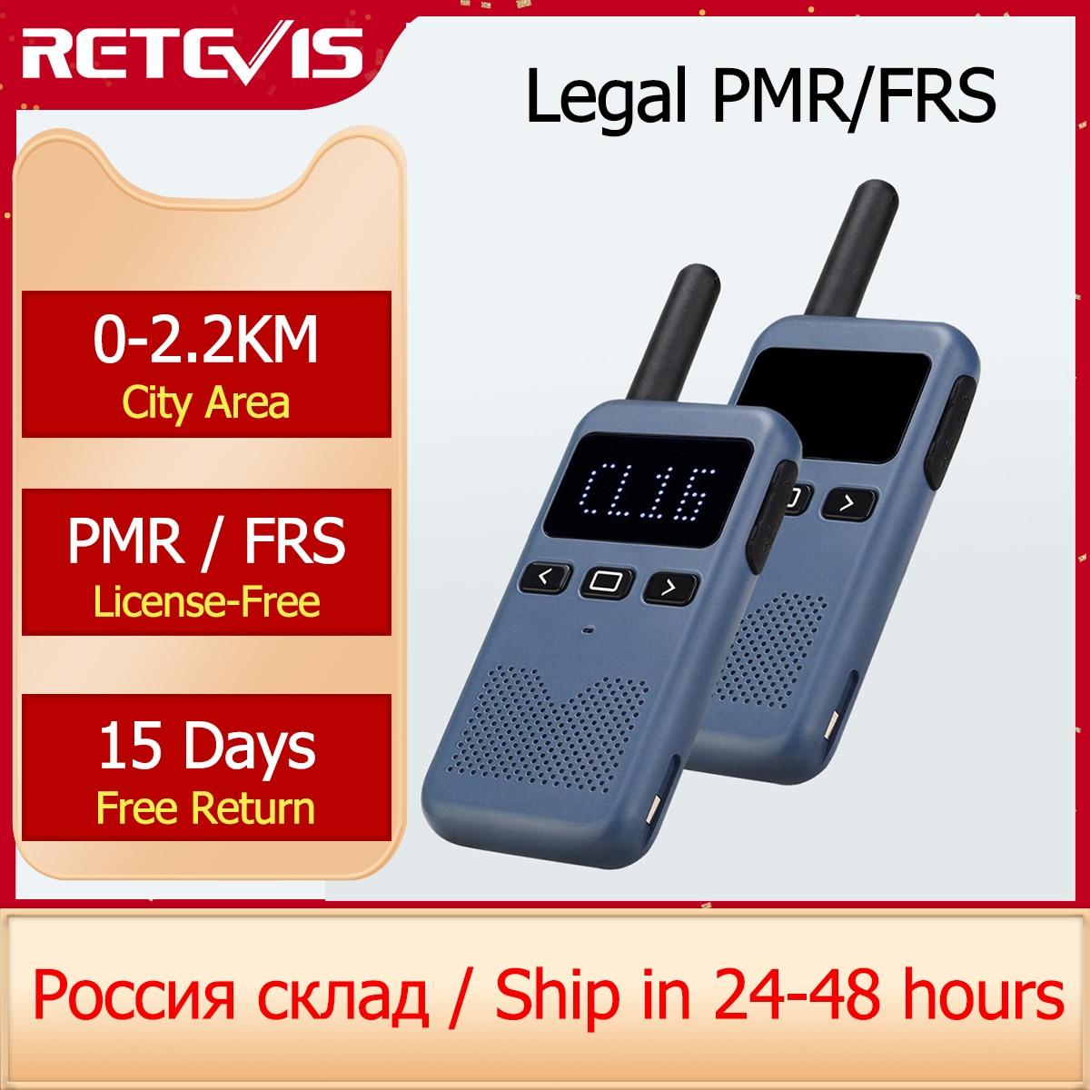Walkie Talkie Mini Retevis USB Type C Телефон RB619 PMR 446 Радио Walkie-Talkies 1 или 2 шт двухстороннее радио портативное радио PTT Hotel