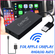 Wireless Smart Link Apple CarPlay Dongle For Android Navigation Player Mini USB Car play Stick With Android Auto Mirror Link