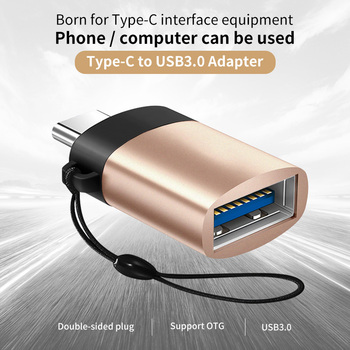 ANMONE USB C OTG Adapter Fast USB 3.0 to Type C Adapter for MacbookPro Xiaomi Huawei Mini USB Adapter Type-C OTG Cable Converter 2