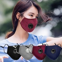 Large In Stock! 4pcs Face Mask Reusable Dustproof Mask,dust Mask Pm2.5 Windproof Foggy Haze Pollution Respirator mascarillas