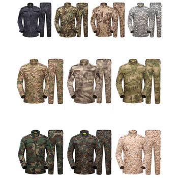 Army Military Airsoft Tactical BDU Uniform Kryptek Mandrake Camouflage Battlefield Suit Airsoft Paintball Shirt Hunting Clothing 2