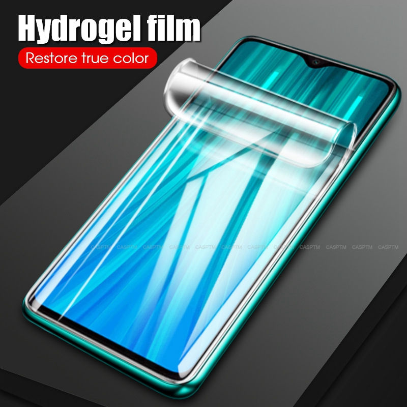 For <font><b>Redmi</b></font> Note 7 <font><b>8</b></font> Pro 6 6A 7A 7 High Transparency <font><b>Hydrogel</b></font> Film For Xiaomi Mi6X Mi6 Mi A2 A3 Soft Screen Protector Front Film image