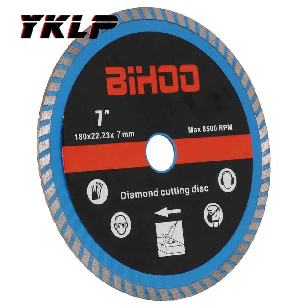 180mm 7 turbo diamond cutting disc grinder blade ceramic tile cutter 7 8 hole