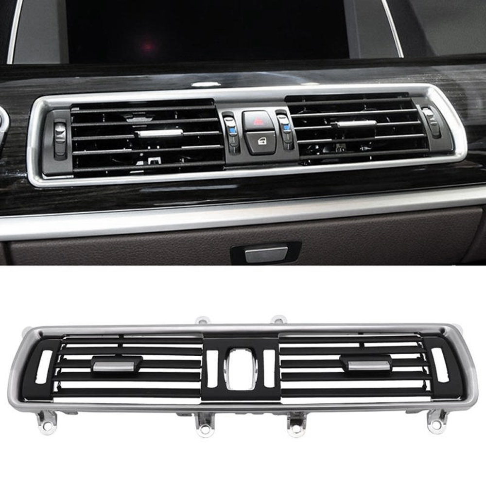 Auto Front Links Rechts Center Achter A/C Air Conditioner Chrome Outlet Vent Dash Panel Grille Voor Bmw 5 serie Gt 528 535 F07 10 17 - 6