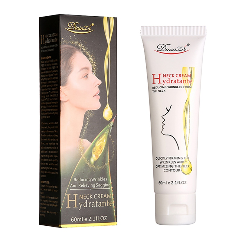 60ml Neck Cream Hydrating Sooth Fine Lines Brighten Skin Color Anti-aging Neck Lotion Neck Beauty Care Pro